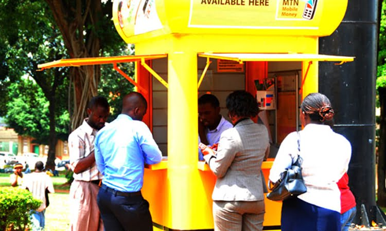 MTN Mobile Money Kiosk