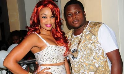 Socialite Zari Hassan together with Ex-husband Ivan Semwanga