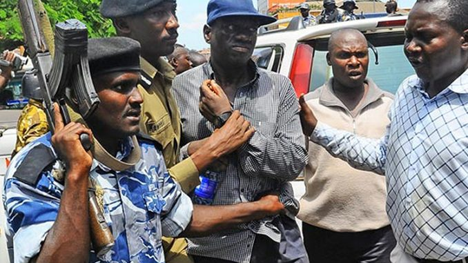Kizza Besigye arrested following walk to work demonstrations