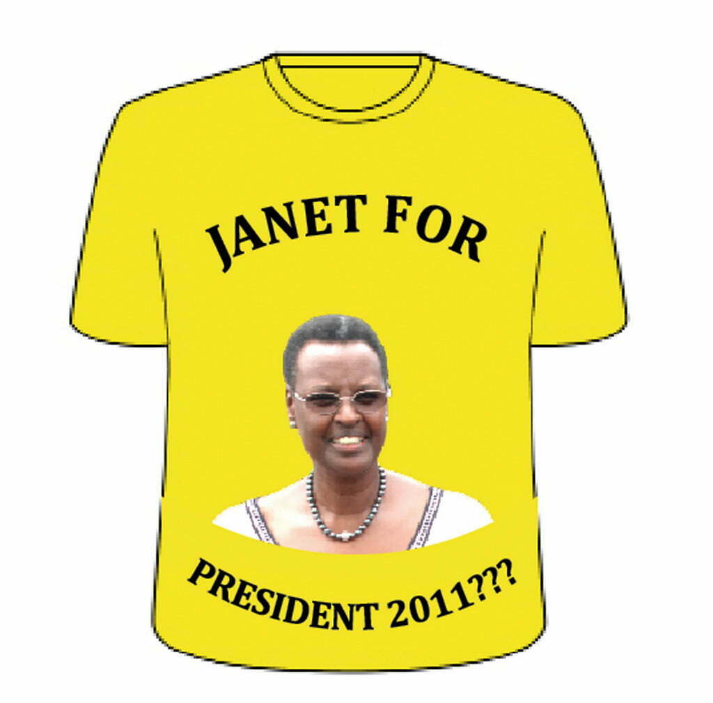 Janet Museveni for president 2011
