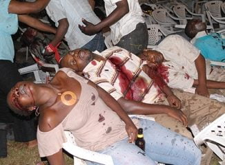 July 11th 20101 Kampala bombing - Internet Photo.