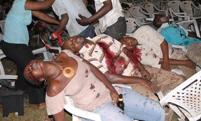 July 11th 2010 Kampala bombing - Internet Photo.