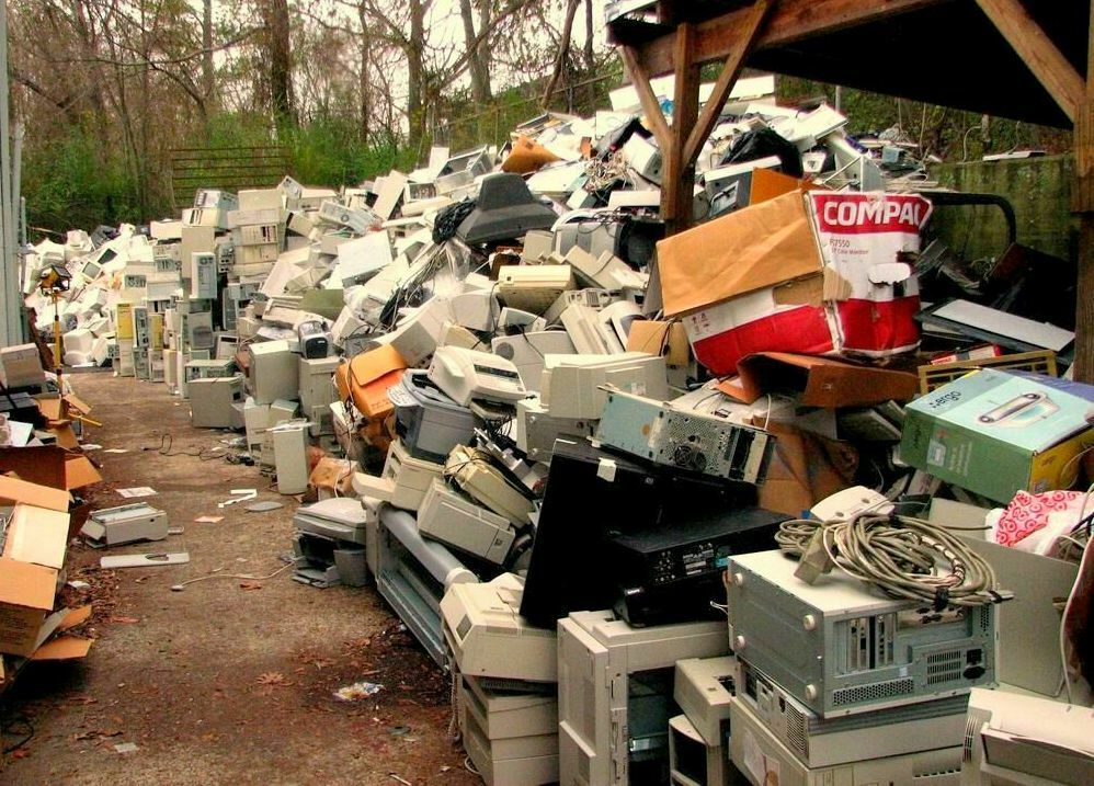 used computers and electronic waste