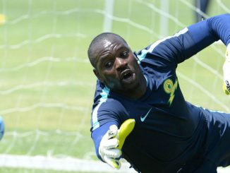 Dennis Onyango will be the first Ugandan to feature in a CAF Super Cup final. Courtesy Photo.