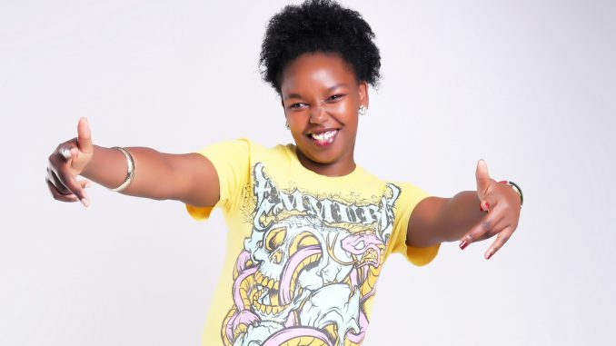 Neid Cate may not be a household name in Kenya's music industry, but she has been featured in several reggae riddims with Jamaican artists like Busy Signal, Burning Faya, Militant Degree and others. File Photo.