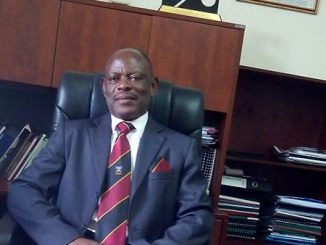 Professor Nawangwe, the Makerere University Deputy Vice Chancellor in charge of Finance and Administration at his office.