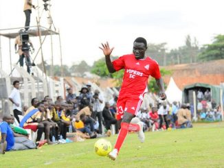 Vipers SC player Julius Malingumu