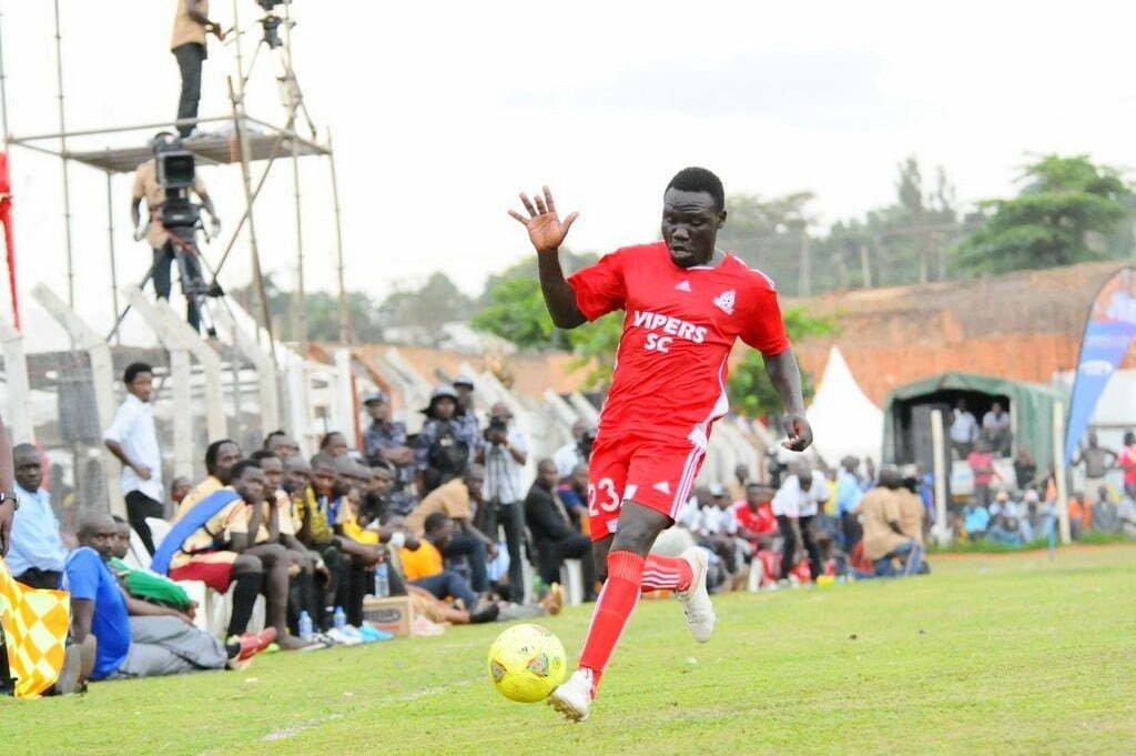 Vipers SC player Julius Malingumu