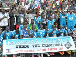 Buddu football club - Masaza Cup fans