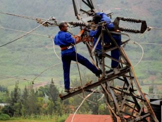 Electricians on duty