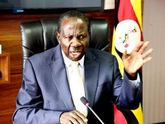 Finance Minister, Matia Kasaija