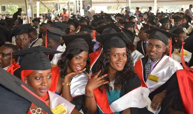 Makerere University Graduands