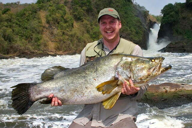 Sport fishing at Murchison Falls National Park