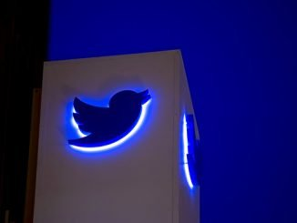 Twitter Inc. logo and signage