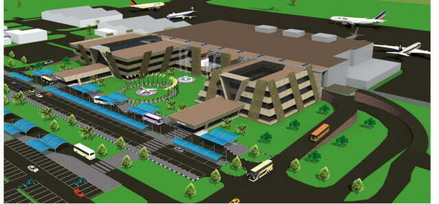Artistic Impression - Exterior of Entebbe International Airport