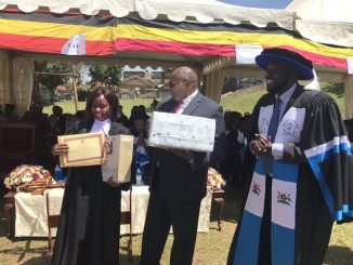 Charlotte Katuutu, Law Development Centre's best student