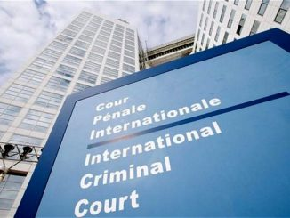 The International Criminal Court (ICC) in The Hague, Netherlands.