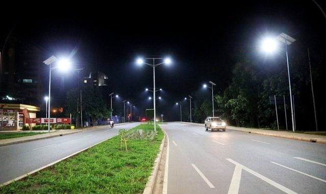 Kampala traffic lights equipped with cameras
