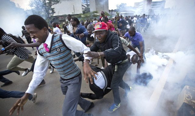 Kenya's Post-Election Violence 2007 - 2008. U.S. travel alert