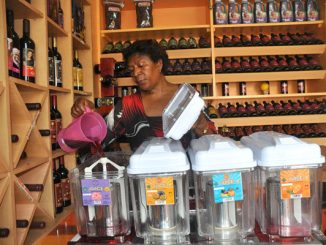 Prudence Ukkonika Busingye, proprietor of Bella Wine