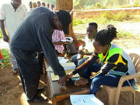 Voting in Kamuli Municipality