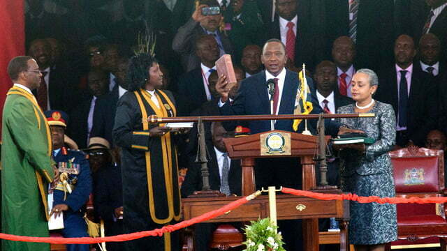 Controversy as Kenya decides Uhuru Kenyatta the fourth President