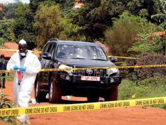 Three assassins in Kaweesi murder still on the run - Police