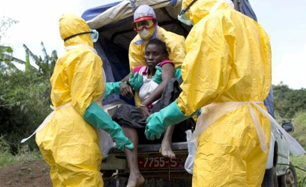 Suspected Ebola patient suffering from blood clotting disorders