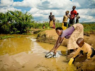 Kotido residents hit by water crisis