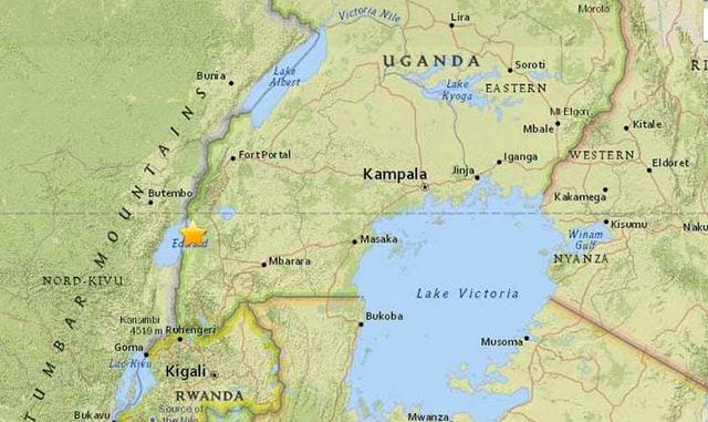 5.3 magnitude earthquake strikes southwestern Uganda