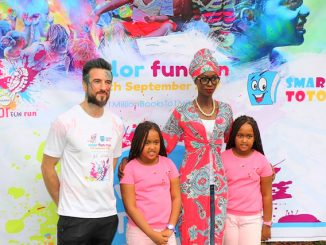 Color fun run, Smart Toto join for kids' literacy movement