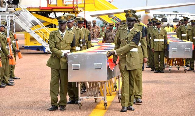 Did al-Shabaab kill 21 Ugandan soldiers?