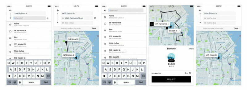 Here is how the Uber App feature works
