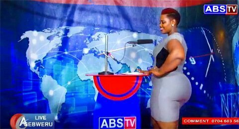 A newsreader of ABS Television