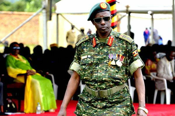 General Elly Tumwine