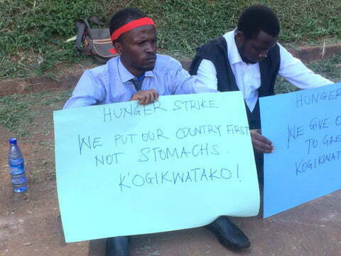 Age Limit: Makerere University students declare hunger strike