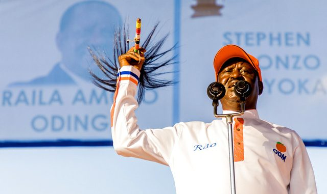 Kenya's Odinga sets conditions to take part in poll re-run