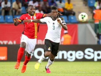 Uganda Cranes line-up Madagascar friendly