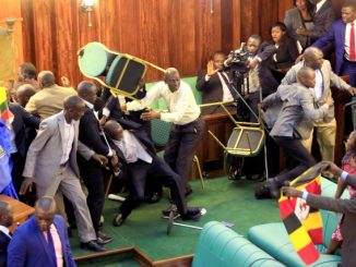Uganda police report pins 38 MPs for commotion in parliament chambers