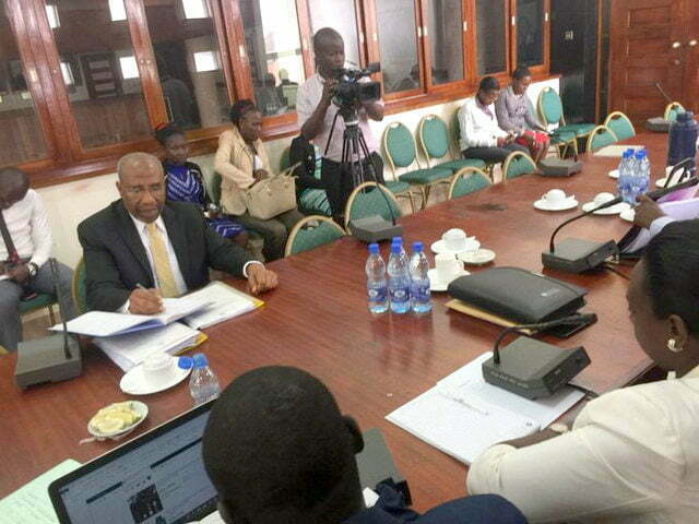 Rugunda before Legal Affairs Committee