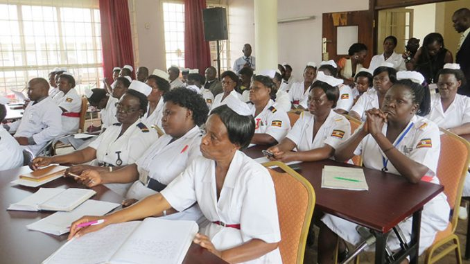Ugandan Nurses demand 400% salary increment within 7 days