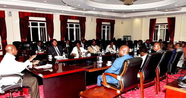 MPs start drafting age limit report after Museveni meet