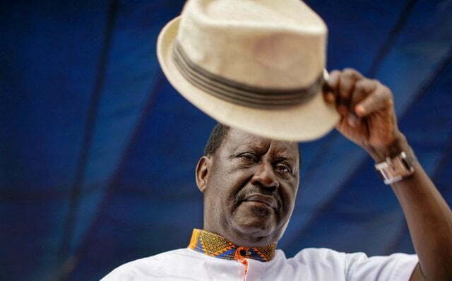 Raila Odinga's New Year 2018 message