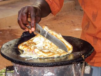 Uganda Food Experience - Rolex and Kikomando