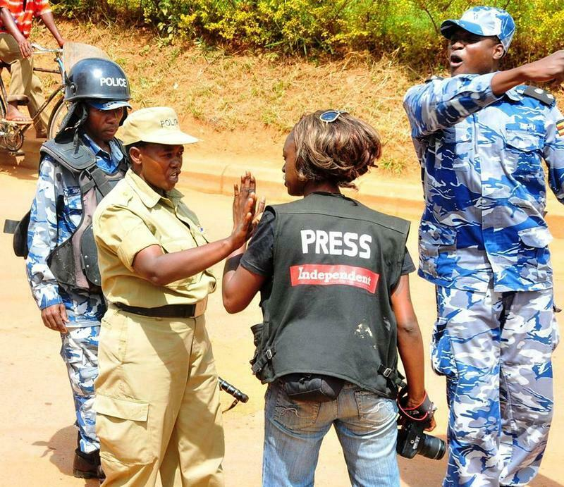 Uganda press-media siege