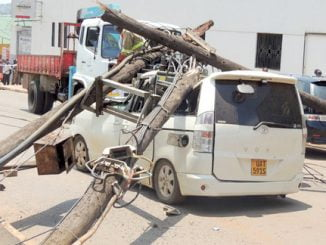 Uganda: Falling electric pole kills crime preventer