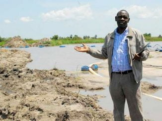 Sand mining could trigger deadly floods in Lwera