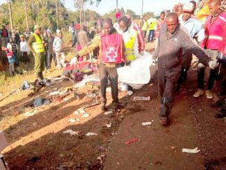 36 dead in central Kenya bus crash