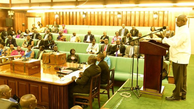 President Museveni challenges EALA members on prosperity