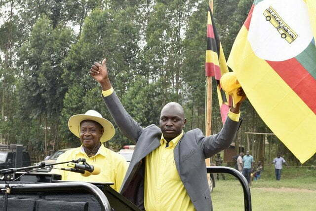 President Yoweri Museveni Addressed rallies in Ruhaama Constituency, Ntungamo District as he canvassed support for the NRM parliamentary by-election flag-bearer, Moses Kahima Mugabe
